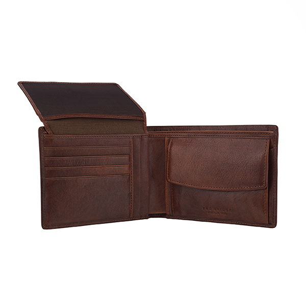 The Bridge|Men's|Wallet|12057|Coin Purse|Brown|Tuscan Cowhide|Leather|