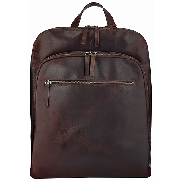 Leonhard|Heyden|ROMA|Backpack|Brown|