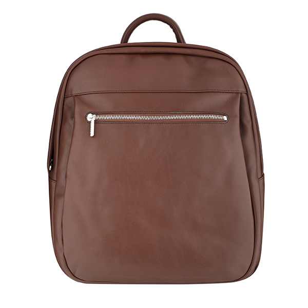 Texier|Backpack|40757|Chocolate|