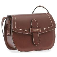The Tannery|Bridge|Shoulder|Bag|41418|Tuscan|Cowhide|Brown|
