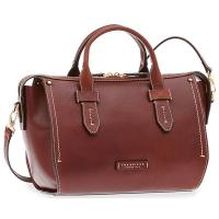 The Tanner|Bridge|Handbag|41428|Brown|Tuscan|Cowhide|