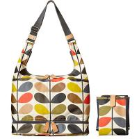 Orla Kiely|Baby Bag|Change Matt|Mums|Laminated bags|Etc.|ladies Baby bag|ladies bags|Orla Kiely bags|Giant Linear Stem print|classic stem print|The Tannery|Multi