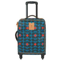 Orla|Kiely|Sixties|Stem|Vinyl|Travel|Cabin|Case|Kingfisher|