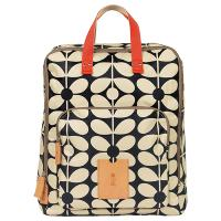 Orla Kiely|Sixties Stem|backpack|18SESXT836|ladies backpack|work backpack|nylon|10%|promotion|