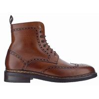 Berwick|The Tannery|leather boots|mens leather boots|brogue boots|laced boots|mens traditonal leather boots|brogue leather boots| winter boots|mens quality leather boots|Chestnut