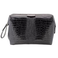 Hammann|Framed|Toiletry|Bag|3140004|Croc|Black|