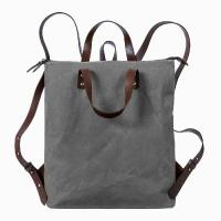 Saccoo|Stockholm|M|Canvas|Backpack|Grey||
