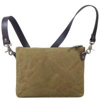 Saccoo|Greenwich|Canvas|Satchel|Khaki