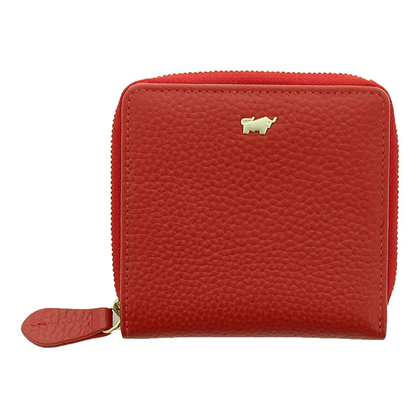 Braun|Buffel|Asti|Zip|Wallet|50450|Red|
