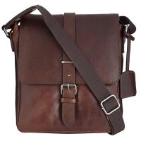 Leonhard|Heyden|Roma|Messenger|Bag|S|5367|Brown|