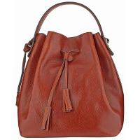 The Tannery|Boldrini|Drawstring|Bag|6926|Brown|Calf|