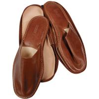The Tannery|Chiarugi|Italy|Travel Slippers|Slippers|Men's Slippers|Slippers with Case|Leather|MEn's Leather Slippers|Travel|Travel Accessories|Men's Accessories|Gift Idea|Gifts for Him|
