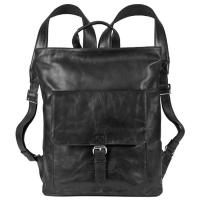 The Tannery|Saccoo|Talca|Backpack|Black|
