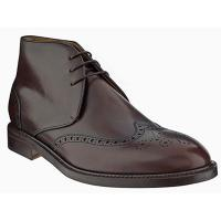 The Tannery|Berwick|Ankle Boot|Brogue|991|Brogue Ankle Boot|Leather|Leather Sole|Gentleman|Menswear|Spanish|BrownAngle