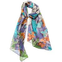 Bewitched|winter floral|scarf|silk scarf|ladies winter accessories