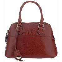 Boldrini|Small|Handbag|6532|Full|Grain|Brown|
