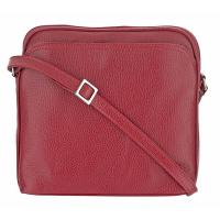 Oria|Shoulder|Bag|D3930|Burgundy|