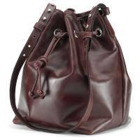 Tusting|Ellis|Aubergine| duffle|leather|handbag|
