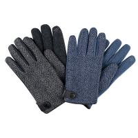Santacana|Mens|Knitted|Tweed|Back|Glove|