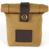 The Tannery|Millican|Ian|Camera Case|Camera|Case|Canvas|Unisex|Unisex canvas camera case|Belt|Wear on belt camera case|Roll top|Foldover|Antique Bronze|