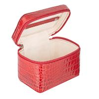 Cepi|Jewellery Case|1156|red leather|new in|gifts for her|travel jewellery box|jewellery case|The Tannery |red leather