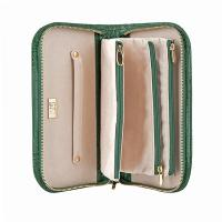 Cepi|Jewellery Case|1014|pockets|zipped pockets|travel jewellery purse|ladies gift ideas|Christmas gift ideas|zipped around jewellery case|The Tannery||patent leather|croc leather|