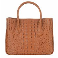 Chiara|Handbag|K3068|Croc|Brown|