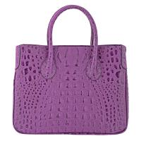 Chiara|Handbag|K3068|Croc|Purple|