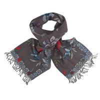 Flowers|Scarf|Kapre| 061|ladies scarf|winter scarf|gifts for her|The Tannery