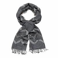 Kapre|Febe|Scarf|Black|KAP061|wool scarf|100% Merino Wool|new|ladies scarf|ladies wool scarf|The Tannery|gift ideas|Gifts for Christmas