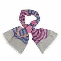Kapre|087|pink|purple|winter scarf|ladies scarf|ne win|cotton & wool|light weight|