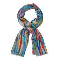 Kapre|Digital Print|KAP316|wool scarf|silk mix|silk blend scarf|shawl|christmas gifts|gifts for her|the Tannery