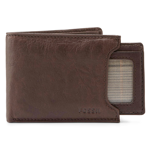 Fossil|Ingram|wallet|sliding wallet|id wallet|travel card holder|mens wallet|Fossil wallet