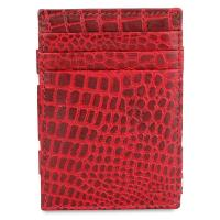 Garzini|Essenziale|Magic|Wallet|Croc|Burgundy|Open|
