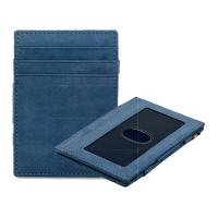 Garzini|Essenziale|Magic|Wallet|ID|Window|Sapphire|Blue|Vintage|Pair|