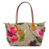 Robertina|Flower|Sm|Tote|Taupe|
