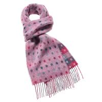Bronte by Moon|Spot/Check|Lilac|Multi|Scarf|