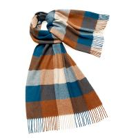 Bronte by Moon|Sledmere|shawl|scarf|stole|wool shawl|ladies shawl|gifts for her|Christmas|teal|rust