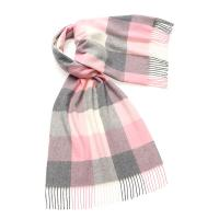 Bronte by Moon|Sledmere|shawl|scarf|stole|wool shawl|ladies shawl|gifts for her|Christmas|pink |grey