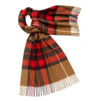 Bronte by Moon|Westminster|Camel/Red|Scarf|
