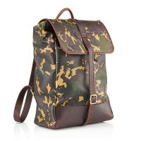 Backpack|Daines and Hathaway|pittards|mens backpack|camo|sherwood|leather camo|