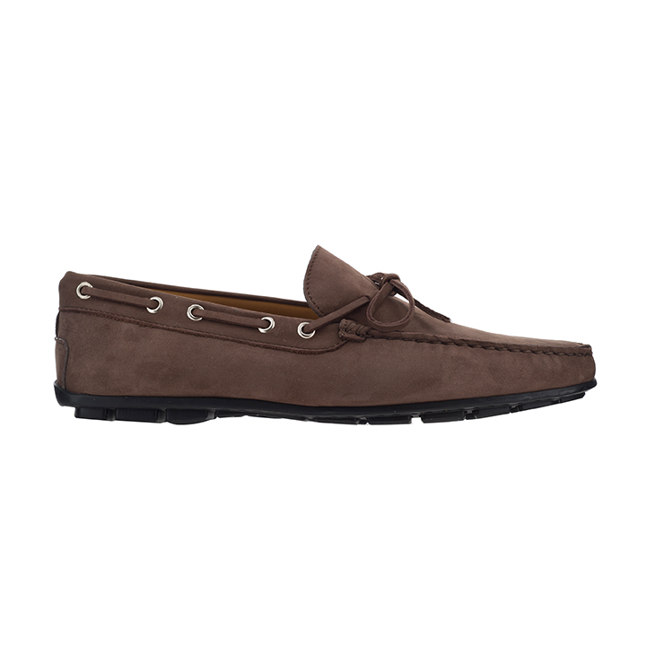 The Tannery|boat shoe|bota loafer|deck shoe|leather deck shoe|101|brown|lace through|