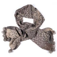 Kapre|Animal Print|pom pom|scarf|wool scarf |winter|warm