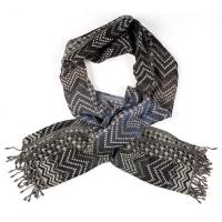 Kapre|KAP354|zig zag|ladies scarf|wool|long|gifts for her|winter|autumn|accessories|luxury|The Tannery