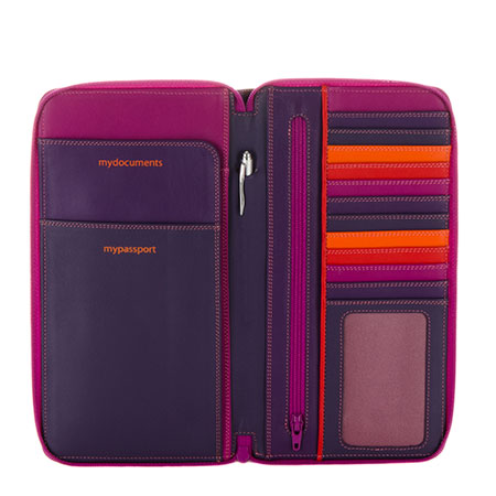 Mywalit Zip Around Travel Wallet a5567f29ed