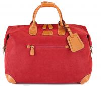 Bric's|Sml|Clipper|Holdall|BLF20203|Red|