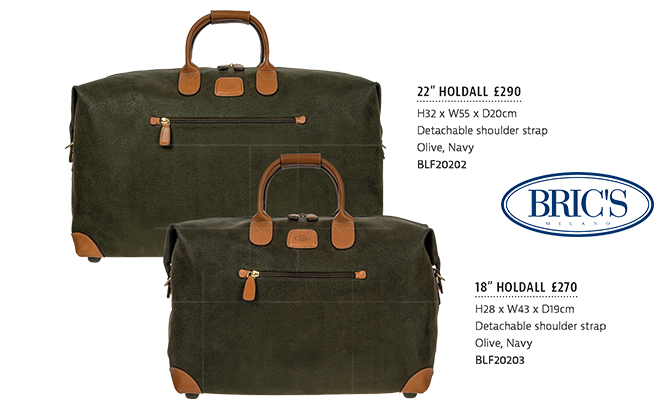 The Tannery|Brochure|SS19|Bric's|Clipper|Holdalls|Page23|