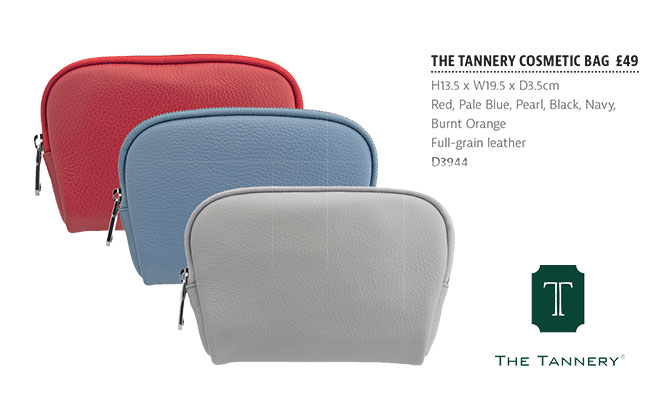 The Tannery|Brochure|SS19|Tannery Collection|Cosmetic|Bags|Page4|