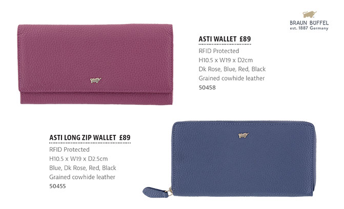 The Tannery|Brochure|SS19|Braun Buffel|Asti Range|Purses|